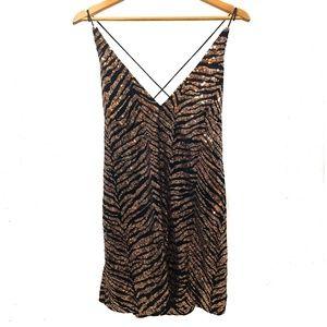NWT Purpura Slip Dress by Motel Rocks